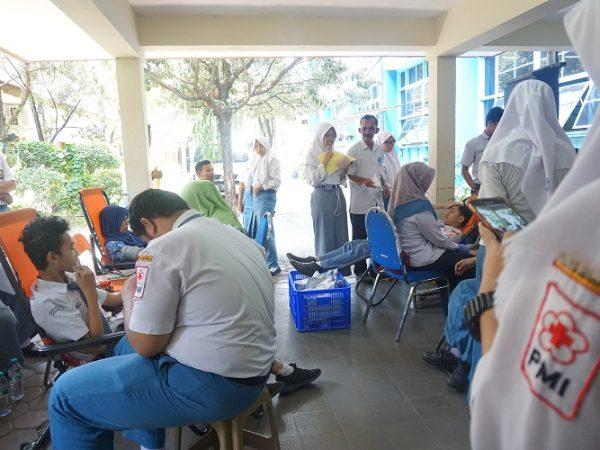 Donor Darah dalam Rangka HUT SMAN 1 ke 73