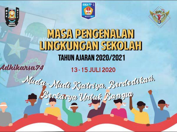KEGIATAN MPLS ONLINE (HARI PERTAMA) PESERTA DIDIK BARU TP.2020-2021