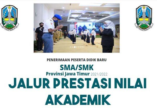 Pemeringkatan Final Prestasi Nilai Akademik (SMA) Penerimaan SMAN 1 KOTA MADIUN
